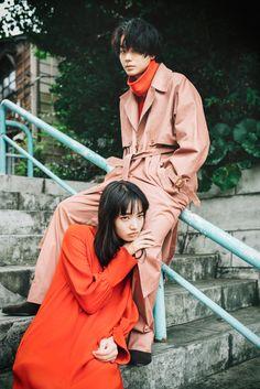 [Photoshoot] Suda Masaki and Komatsu Nana for soup magazine - Celebrity Photos - OneHallyu Film Photography, Couple Photography, Fashion Photography, Couple Posing, Couple Shoot, Nana Komatsu Fashion, Monnier Freres, Japanese Model, Komatsu Nana