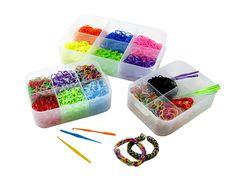 Cet été, impossible d'échapper à la mode des élastiques Loom ! Les Pure box sont idéales pour ranger les Elastiques !