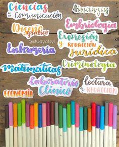 Journal Fonts, Bullet Journal School, Bullet Journal Notes, Bullet Journal Ideas Pages, Bullet Journal Inspiration, Cute Notes, Pretty Notes, Good Notes, Bellet Journal