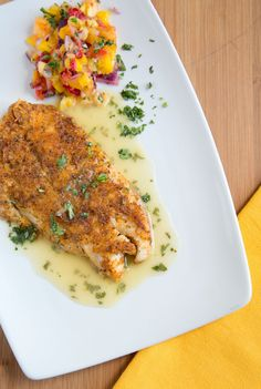 How to Make Cajun Style Florida Snapper with a Lime Margarita Sauce from @Ask Chef Dennis
