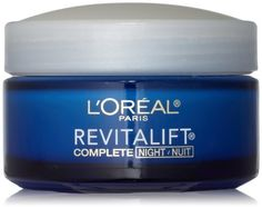 L 39Oreal DermoExpertise Advanced RevitaLift Night Cream Complete AntiWrinkle amp Firming Moisturizer Facial Treatment Products Pack of 3 *** Check this awesome product by going to the link at the image.