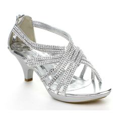 Delicacy Womens Angel-41 Rhinestones Embellished Strappy Sandals * Continue to the product at the image link.