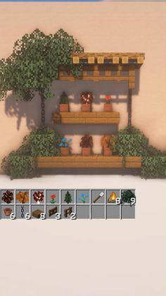 Plans Minecraft, Minecraft Garden, Minecraft Farm, Minecraft Mansion, Easy Minecraft Houses, Minecraft House Tutorials, Minecraft House Designs, Minecraft Decorations, Amazing Minecraft