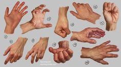Hands and Feet by irysching on DeviantArt