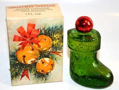 Vintage Avon...I remember growing up pretty much every Christmas there was always something from Avon in my stocking.
