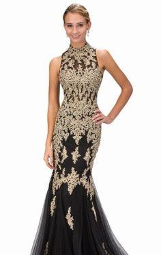 Beaded Open Back Mermaid Gown by Elizabeth K GL1365P Great Gatsby Prom 0a58e77e8