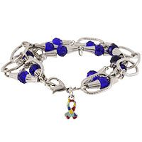 Crystal+&+Links+Autism+Awareness+Bracelet+at+The+Autism+Site