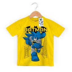 Camiseta Infantil Batman Em Ação #Kids #Batman #DiadasCrianças
