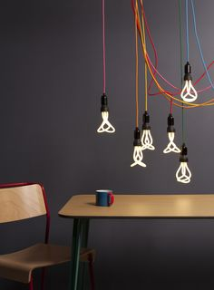 "low energy bulb ""Plumen"" by Ian Nolan"