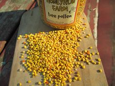 Bee Pollen:  how it is harvested, how to eat it, and the nutritional components
