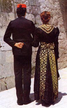 Croatia- Gradska Nošnja, Town Costume of Split, formal