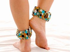 Cute Print Ankle Weights.