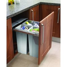 Trash & Recycling Cabinet