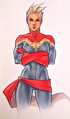 Captain Marvel by Kate Niemczyk