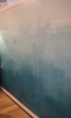 ombre wall #westelm | making our new home :) | Pinterest