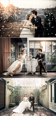 Lovely and Elegant Semi-Casual Date Korean Pre-wedding Photoshoot From The Comfort Of A Studio – Timetwo Studio, Cafe, Flower Petals, Indoors Source by onethreeonefour Pre Wedding Poses, Pre Wedding Photoshoot, Wedding Shoot, Wedding Couples, Wedding Dresses, Wedding Ideas, Bridal Poses, Trendy Wedding, Elegant Wedding