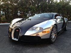 16dd31b769f Day 12 of 100 Days of Beauty - the Bugatti Veyron - pure automotive  perfection. Steve Wallace · spectra chrome ...
