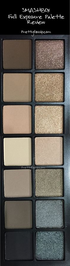 Mattes and Shimmers. Love this palette. @smashbox #smashbox #prettygossip