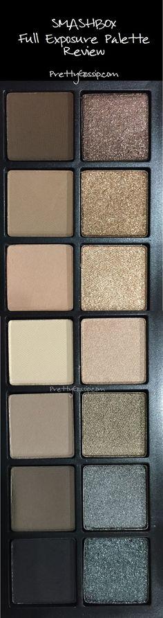 Mattes and Shimmers. Love this palette. @smashbox #smashbox #prettygossip