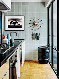 Architect Mauricio Arruda's kitchen