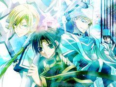 Desktop by Bishop-HakurenOak on DeviantArt Manga Anime, Anime Art, 1080p Wallpaper, I Love Anime, Webtoon, Fan Art, Deviantart, Yuri, Artist