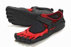 Vibram Five Fingers Kso Black/Red Men's 25879