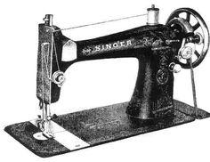 Vintage Sewing Machine - Singer Class127