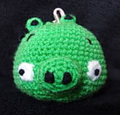 Ravelry: Green Pig from Angry Birds Crochet Pattern pattern by snacksies snacksies