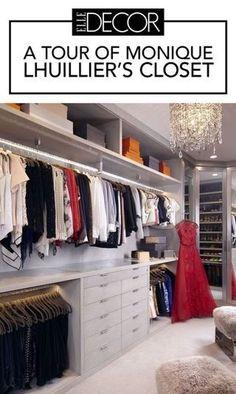 Monique Lhuillier's Closet