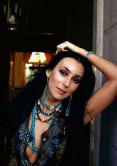 Cher ... before all the plastic surgery