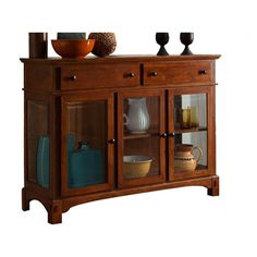 Found it at Wayfair - Laurelhurst Server in Red Oak...I want this one!