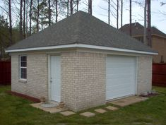 Garage with hip roof garages pinterest hip roof for Hip roof barns