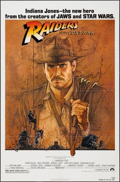 "Movie Posters:Adventure, Raiders of the Lost Ark (Paramount, 1981). One Sheet (27"" X 41"").Adventure.. ... Image #1"