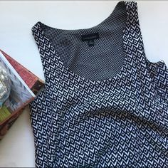 Cynthia Rowley Patterned Top Love this--just have never worn it! Great condition. Thin, soft. Cute for the summer! Cynthia Rowley Tops Tank Tops