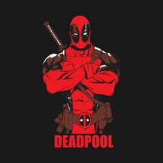 Awesome 'Deadpool+tshirt' design on TeePublic!