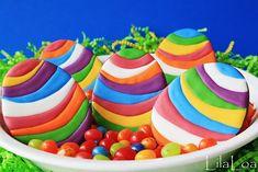 LilaLoa cookies - amazingly colourful