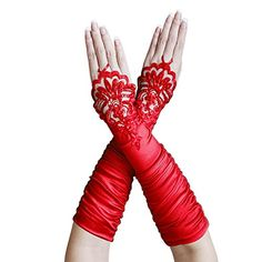 ZaZa Bridal Gathered Satin Fingerless Gloves w/ Floral Embroidery Lace & Sequins-Red ZaZa Bridal http://www.amazon.com/dp/B00L9SBP6K/ref=cm_sw_r_pi_dp_wTHdxb13QVM95