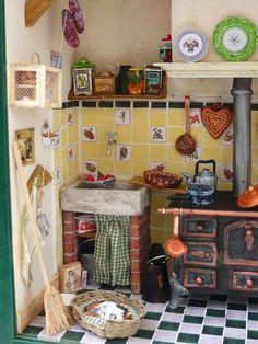 La cuisine de Muriel - Mooghis Cath Vitrines miniatures