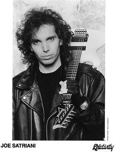 Joe Satriani Press Kit Photo https://www.facebook.com/FromTheWaybackMachine