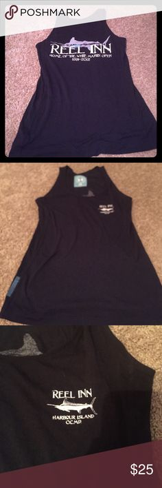 Under armor tank from white marlin open Under armor tank from white marlin open Under Armour Tops Tank Tops