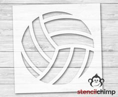 Volleyball Cookies, Volleyball Party, Senior Year Of High School, Stencil Material, Pallet Signs, Name Signs, String Art, Diy Art, Jo Anns