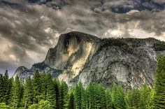 Half Dome Yosemite National Park by Mlparr61