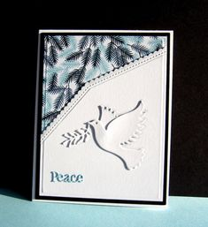 WT617 Peace Dove by catluvr2 - Cards and Paper Crafts at Splitcoaststampers