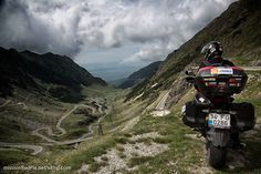 What's the best road you've ever ridden? Here's the legendary Transfagarasan in Romania, via Mission Red Planet.
