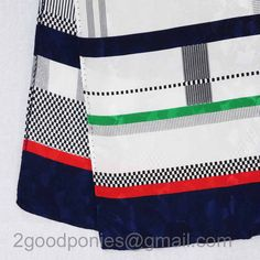 vtg Silk Scarf in Nautical Colors by 2goodponiesvintage on Etsy, $9.00