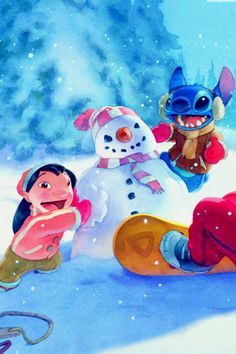 Christmas Lilo And Stich Wallpaper Disney Pixar, Walt Disney, Disney And Dreamworks, Disney Cartoons, Disney Love, Disney Magic, Lilo And Stitch 2002, Lilo Y Stitch, Cute Stitch