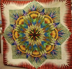 Prairie Star, Quiltworx.com, Made by Martha Mosher