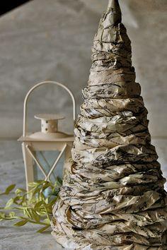 Poppi Linn: Tissue Paper Christmas Tree