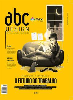 Capa da edição 46 da Revista abcDesign
