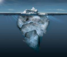 ING BANK Iceberg by Francois Veraart, via Behance